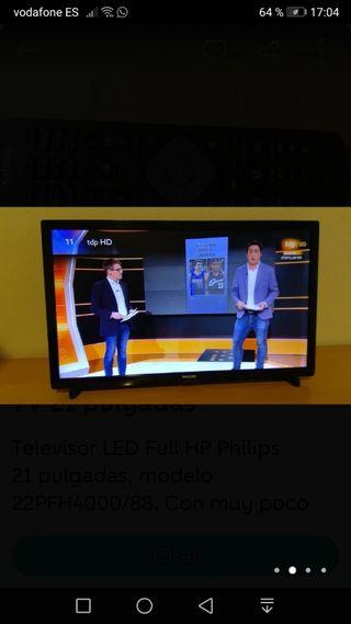 televisión Philips 22 led