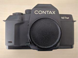 Cámara Contax 167 MT