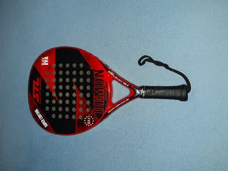 Pala de padel Steel Custom Demon.