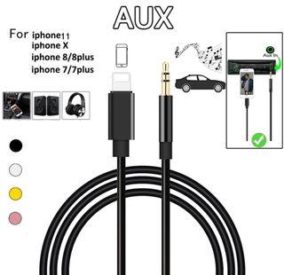 Cable Auxiliar Jack 3,5mm - IOS