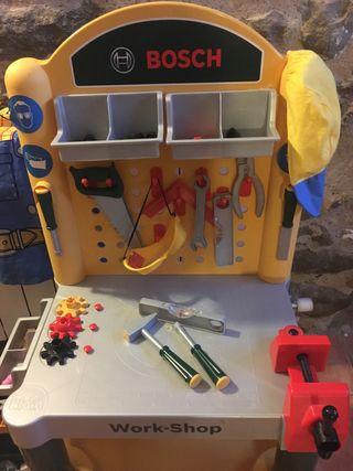 Banco de trabajo bosch juguete de segunda mano por 20 € en