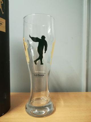 Exclusiva copa cerveza Voll-Damm