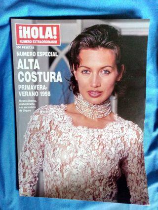 HOLA NUMERO ESPECIAL 1998 NIEVES ALVAREZ