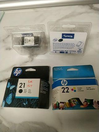 cartuchos de tinta para impresora