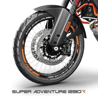 Vinilos llantas moto ktm Superadventure 1290 R