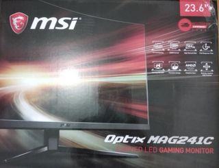 msi optix mag241c monitor