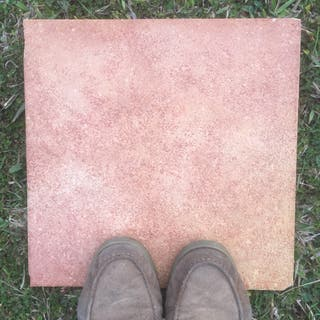 Baldosas de gres marrón - 140m2