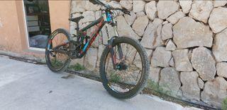 bicicleta de descenso scott gambler