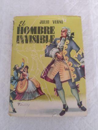 El hombre invisible. Libro
