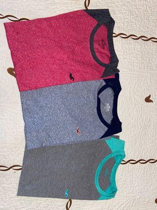 Lote camisetas Hollister