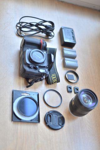 Nikon D300S + Objetivo + accesorios Oportunidad!