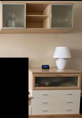 Mueble comedor comoda y estante puertas