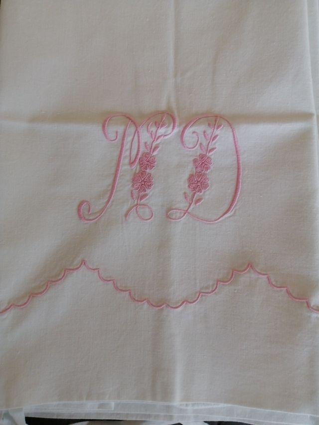 sábanas antiguas algodón