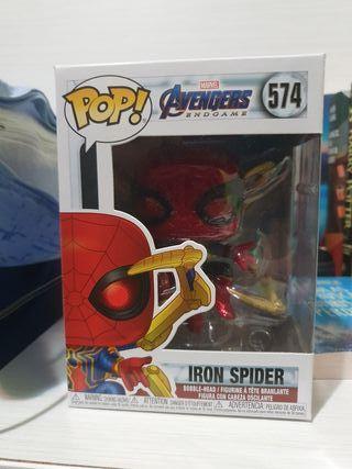 Funko Pop Iron Spider con Nano guantelete