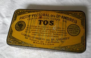 CAJITA METÁLICA Dr.ANDREU.
