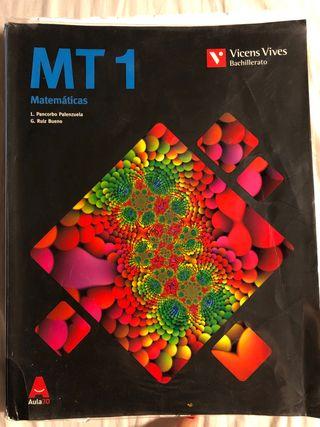 Libro de 1 bachillerato de Matemáticas