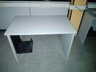 Mesa blanca mide 100x60,ct