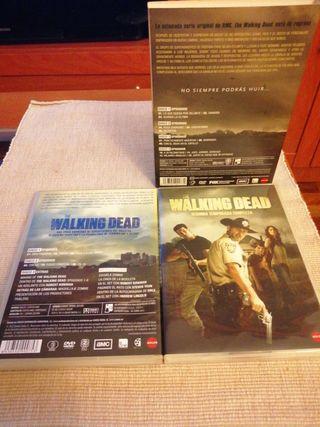serie the walking dead en DVD T1 Y T2