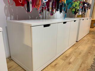 Cómoda de 3 cajones, blanco, 120x54cm IKEA