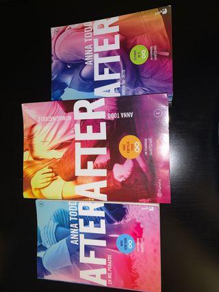 """Saga de libros """"After"""""""