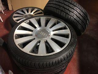 Llantas audi 19 con neumáticos nuevos