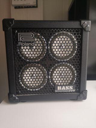 Amplificador de bajo Roland Microcube