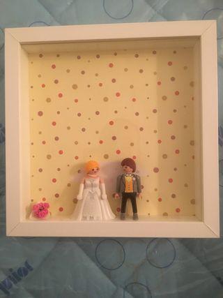 Novios boda Playmobil