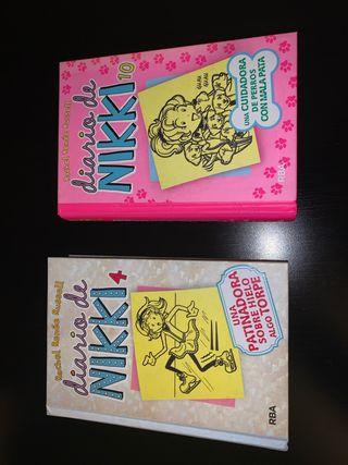 """Libros """"Diario de Nikki"""""""
