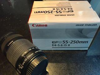 Objetivo Canon Ef-S 55-250mm