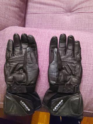 guantes moto piel/LEVIOR: TOUCH XL