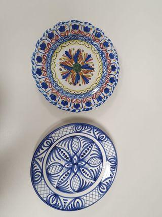 platos loza andalucia