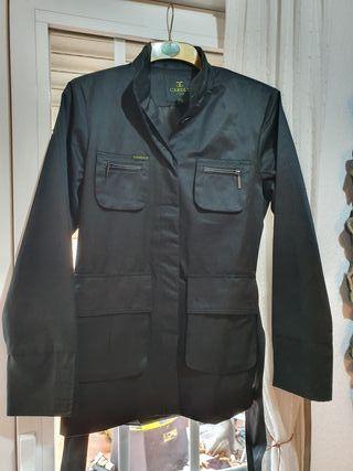 Chaqueta negra Moda Italiana