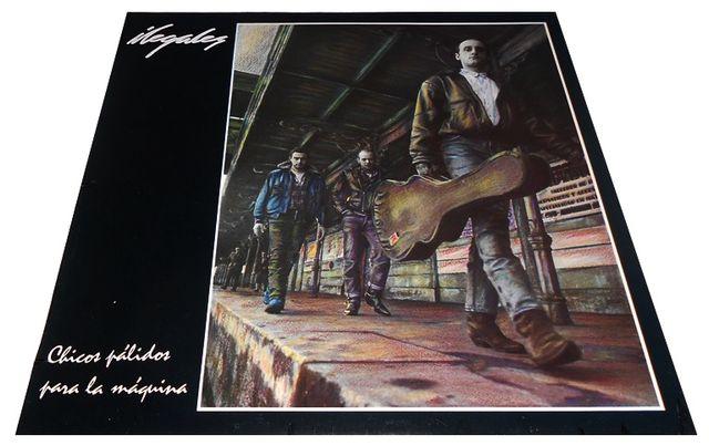 ILEGALES. CHICOS PALIDOS PARA LA MAQUINA LP VINILO