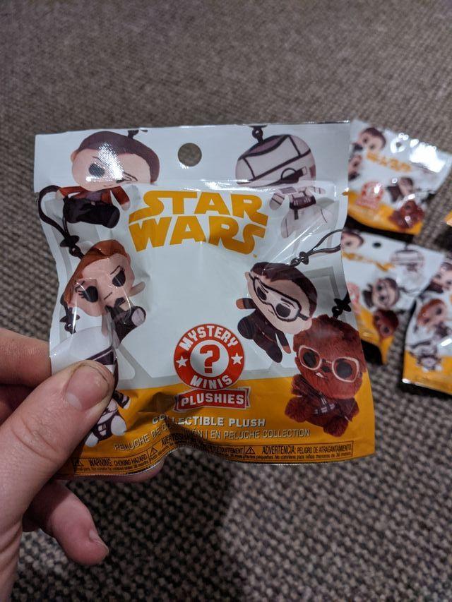 Star wars mystery plush keyrings
