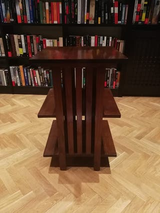 Mesa auxiliar madera maciza