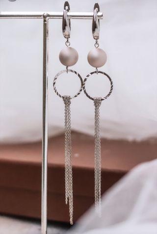 Largos Pendientes de novia invitada a boda joyas