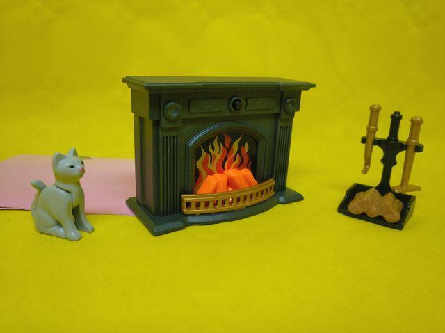 Playmobil Chimenea con luz REF 7344