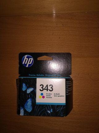 Cartuchos de tinta hp modelo 343