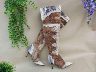 Marca el Dantés botas mosqueteras lujo