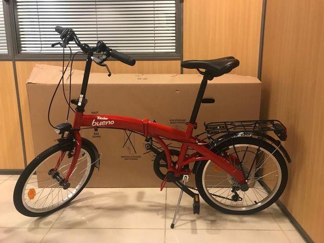 Bicicleta Plegable A Estrenar