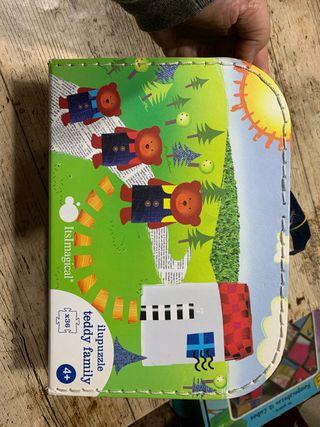 Puzzle infantil +4 años