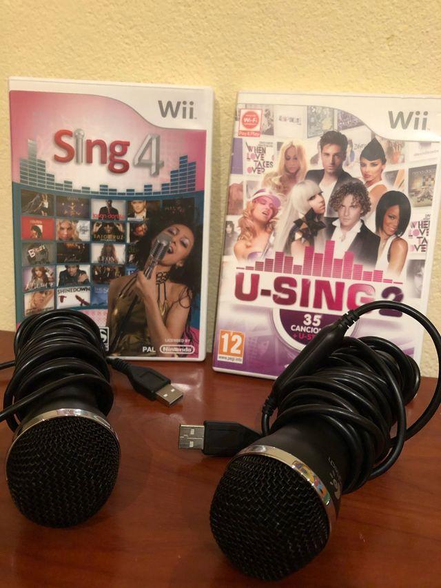 Pack karaoke wii