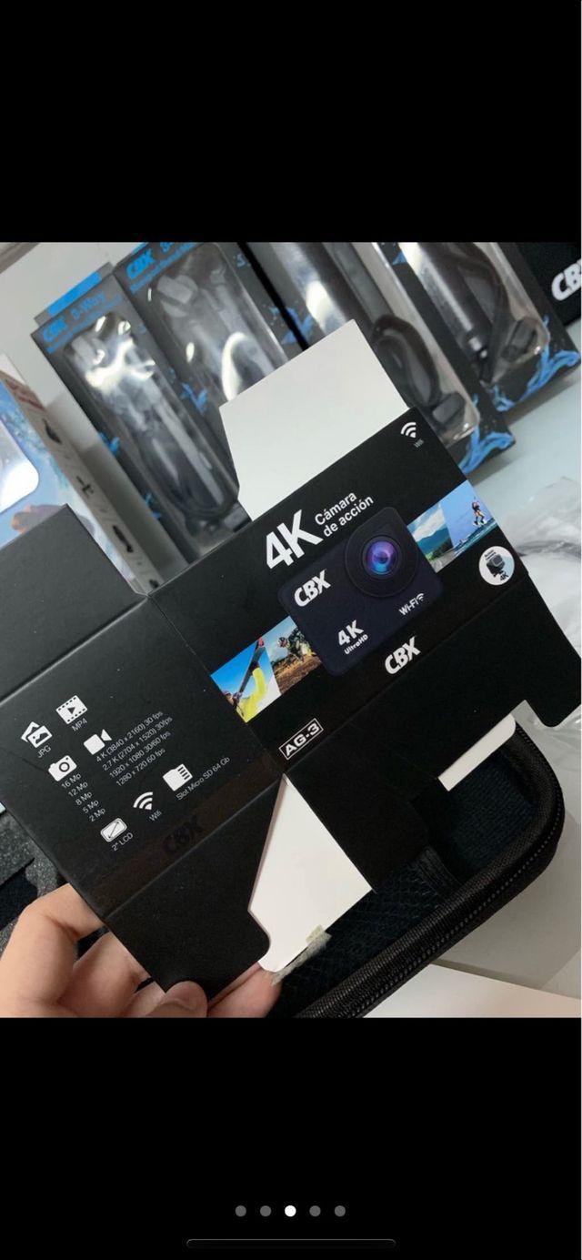 Cámara deportiva CBX 4k Wifi