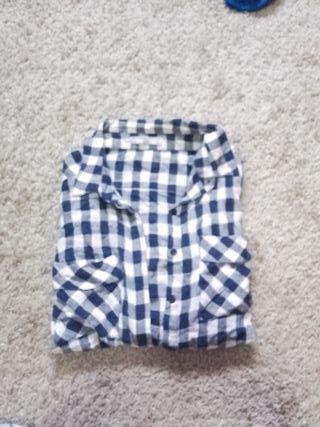 Camisa a cuadros