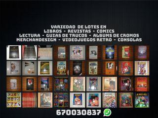 Lotes Libros Atlas Enciclopedias Guías Comics