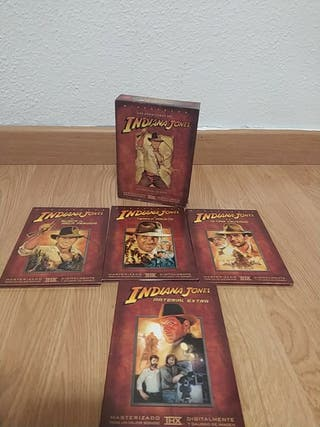 trilogía Indiana Jones DVD