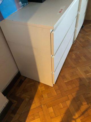 cómodas blanca malm Ikea