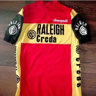 maillot original Ti Raleigh Creda temporada 1980