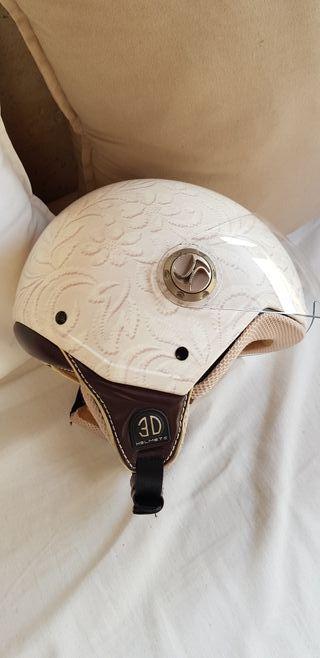 Casco chica 3 D Helmets