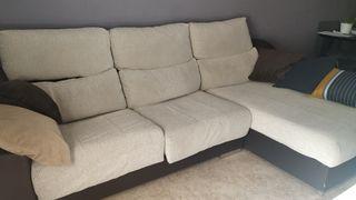 Se vende sofá chaise lounge.